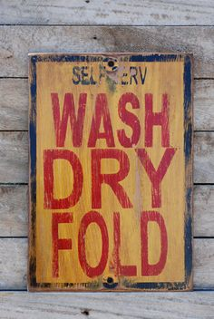 laundry home design design decorating decorating before and after room design Pallet Art, Pallet Signs, Rustic Signs, Wooden Signs, Mulberry Fabric, Laundry Room Inspiration, Laundry Signs, Primitive Signs, Old Signs