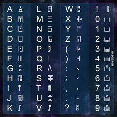 What alphabet is this?