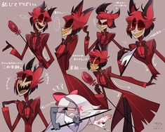 ~Alastor x Angel Dust~ i ship these two guys so much that i spent th… Fanfiction Character Art, Character Design, Villainous Cartoon, Alastor Hazbin Hotel, H Hotel, Hotel Trivago, Vivziepop Hazbin Hotel, Cool Drawings, Art Reference