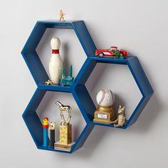 bdf47  Hexagonal wall shelves The Top Fall Trends For Interior Design and style decorating