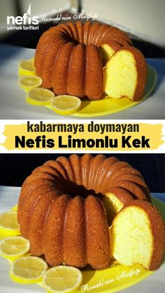 Kabarmaya Doymayan Limonlu Kek – Nefis Yemek Tarifleri How to Make Lemon Cake Recipe Here is a picture description of the recipe in the book of 920 people and the photos of the experimenters. Casserole Recipes, Cake Recipes, Lemon Recipes, Baking Recipes, Cake Vegan, Mexican Breakfast Recipes, Paleo Breakfast, Nom Nom Paleo, Christmas Breakfast