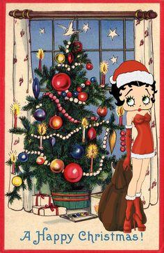 betty boop christmas pin ups - Bing Images