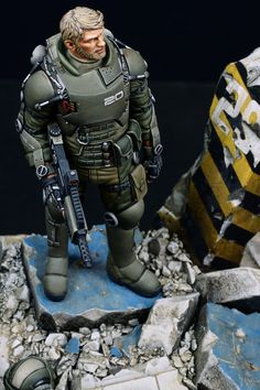 Exo suit light armor.(Ghost company. 1/20, 90mm)