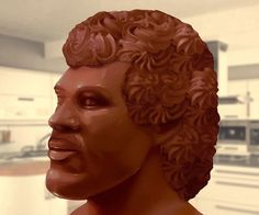 Lionel Ritchie Chocolate Head  Hello is it an edible chocolate bust of Lionel Richie youre looking for? You can nibble bits from his eyes you can chew chunks from his smile. Its all youve ever wanted and your mouth is open wide. Its made from 9kg of delicious Belgian milk chocolate.  $833.19  Check It Out  Awesome Sht You Can Buy