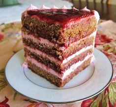 Vegan Spring Strawberry Cake by Fragrant Vanilla Cake