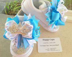 Primeros zapatos de Minnie Mouse por HappyCaps2014 en Etsy