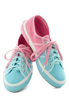 Cotton Candy Calpyso Sneakers