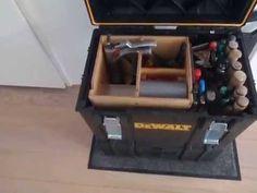 DEWALT TOUGH SYSTEM DWST 08204 DS400 XL CASE WOODEN ISERT TOOLBOX