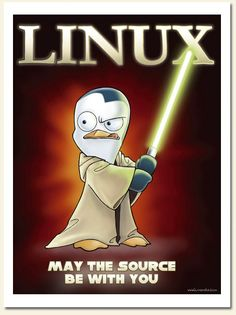 GNU/Linux - May the source be with you! #StarWars #Linux