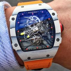 """1,112 Likes, 16 Comments - Welcome To Wwatches! (@w.watches) on Instagram: """"Beauty on the wrist Richard Mille RM027-02 Rafael Nadal Tourbillon @mrwatchgame #Wwatches"""""""