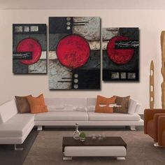 3 Canvas Paintings, Panel Art, Mural Art, Calligraphy Art, Texture Painting, Abstract Art, Art Prints, Drawings, Wall