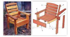 Deck Chair Plans - Outdoor Furniture Plans & Projects   WoodArchivist.com