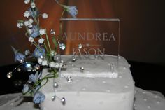 My daughter Andi's wedding--the wedding cake topper