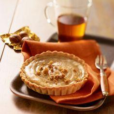 Recette de Tarte à la crème de marron par Francine. Découvrez notre recette de Tarte à la crème de marron, et toutes nos autres recettes de cuisine faciles : pizza, quiche, tarte, crêpes, Autres tartes sucrées, ...