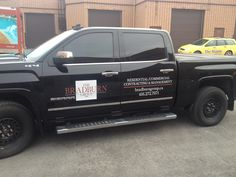 New #vehiclegraphics installed for The Bradburn Group, a professional residential and commercial contracting management team, by Speedpro Imaging Oakville. Jordan and Jay Bradburn were impressed with the overall look, the clean lines and the effect that a simple graphic has on transforming an everyday truck into more professional and credible looking work vehicle!
