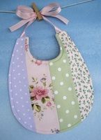 Pretty Pieced Bib EPattern from SewBaby.com