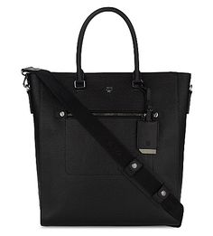 MCM Markus Medium Grained Leather Tote. #mcm #bags #shoulder bags #hand bags #leather #tote #