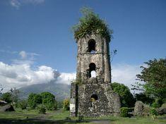 The Cagsawa Church Ruins and Mayon Volcano - Philippines