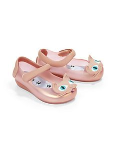 Mini Melissa Infant's & Toddler's Ultragirl Cat Mary Jane Flats