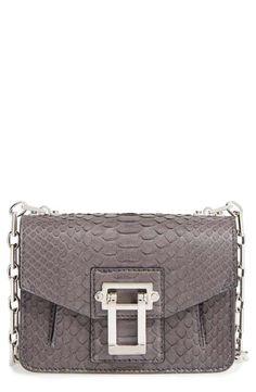 ad18e173c2f7 Proenza Schouler  Hava  Genuine Python   Leather Crossbody Bag Bolso  Crossbody De Cuero