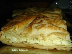 Betty's Cuisine: Τυρόπιτα με ανθότυρο και φέτα Pizza, Bread, Food, Tarts, Mince Pies, Pies, Brot, Essen, Baking