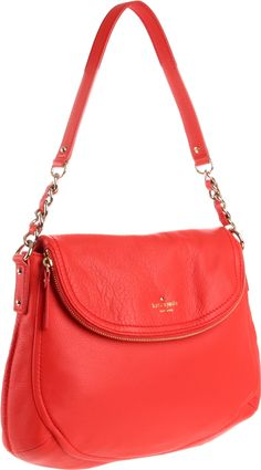 Kate Spade bag to go with the orange shoes. Orange, its the new beige.