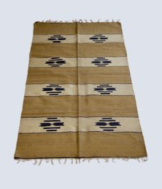 Hand-woven Moroccan Rug  from Rose and Fitzgerald