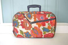 Hey, I found this really awesome Etsy listing at https://www.etsy.com/listing/484497277/paisley-print-small-suitcase-ad-sutton