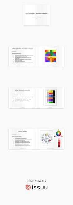 Ejercicios de la teoria del color  Ejercicios de clase Ideas Para, Drawings, Design, Art Rooms, Theory, Sketches, Drawing, Portrait, Draw