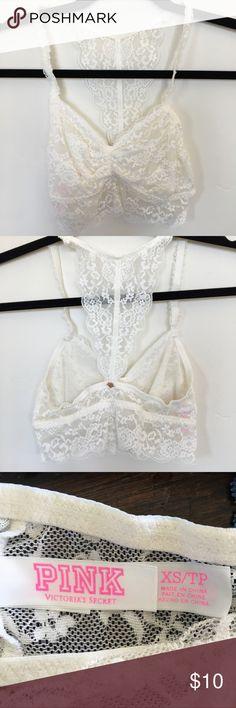 PINK Victoria's Secret bralette. Women's size (XS) PINK Victoria's Secret bralette. Women's size (XS) very sweet design. Never worn. PINK Victoria's Secret Intimates & Sleepwear Bras