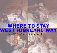 West Highland Way Accommodation