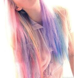 Inspiration by Carrera Bailey. #pastel #haircolor #mylittlepony @bloomdotcom