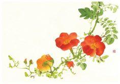 아트담 갤러리 능소화 꽃 그림(아트담 능소화 02)
