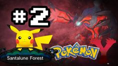 Let's Play: Pokemon Y #2-Santalune forest e Pikachu! (+playlist)