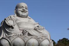 Cotia. Templo Zu Lai. Estátua.