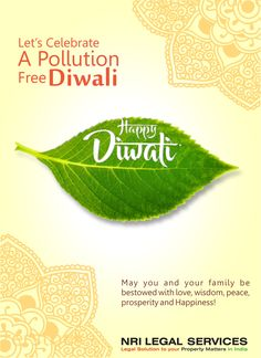 Nri Legal Services Wishes you and your family a Very Happy & Prosperous Deepawali