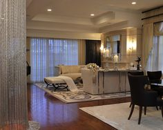 Living Room And Dining Room Combo