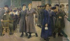 In Flora Lion's Women's Canteen at Phoenix Works, Bradford munitions workers are seen as a sisterhood of bold, independent young women Photograph: Imperial War Museum World War One, Second World, First World, Artist And Craftsman, War Photography, Female Photographers, Art For Art Sake, Women In History, Female Art