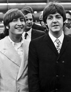 John Lennon and Paul McCartney❤️