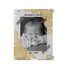 Mummy's Girl - Customised iPad 2, 3, 4, 3d Snap Case - Personalised with your child's photograph - Perfect gift for mum, aunt or grandma by ScribbleGifts on Etsy