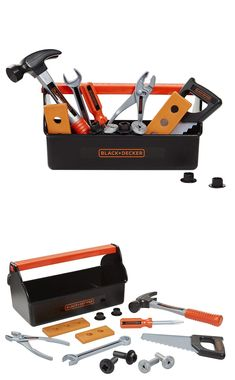 9967c9e80 Tool Sets 158747: *New* Kids Tool Set Black Decker Box For Children - Free  Shipping! -> BUY IT NOW ONLY: $16.99 on #eBay #black #decker #children