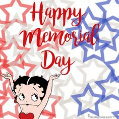 animated cartoon characters betty boop happy memorial day bb diva