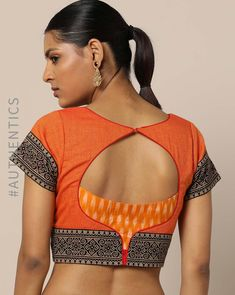 38 Simple and Stylish Blouse Back Neck Designs Simple Blouse Designs, Stylish Blouse Design, Blouse Back Neck Designs, Saree Blouse Designs, Sari Blouse, Boat Neck Designs Blouses, Indian Blouse, Dress Designs, Blouse Styles