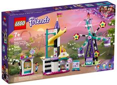 Lego Shop, Lego Friends Sets, World Play, Carnival Rides, Lego Toys, Card Tricks, Girl Themes, Shops, Family Kids