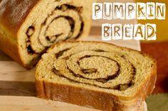 Pumpkin Bread with Cinnamon Walnut Swirl Scroll down below the recipe for 102 links to Pumpkin/Squash Love Recipes