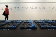 Emoto Data Sculpture - Visualising the emotional response to the Olympic Games London 2012