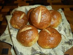 Low Carb Pretzel Buns Recipe - Diabetic Chef's Recipes Flour Recipes, Chef Recipes, Gluten Free Recipes, Pretzel Bun Recipe, Baking Soda Water, Wheat Gluten, Diabetic Friendly, Keto Bread, Coconut Flour