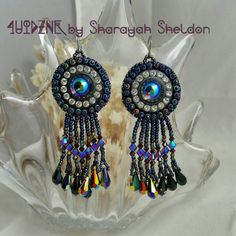 Check out this item in my Etsy shop https://www.etsy.com/listing/260160359/bling-bling-bead-embroidered-earrings