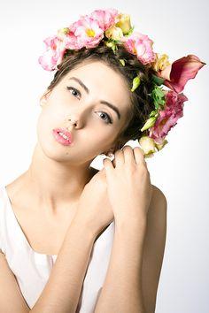 Diadem Series, 2013, Model: Irina Pritulyak, Mua: Natali Murashko, Hair: Julia Artyomenko, Eustoma flowers, beauty,12