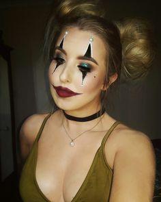 Glam Clown Makeup Halloween